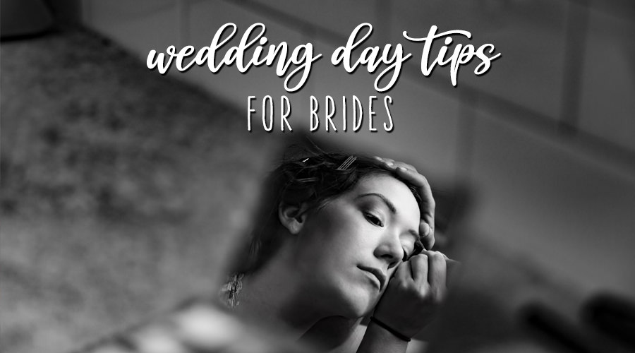 wedding day photo tips for brides