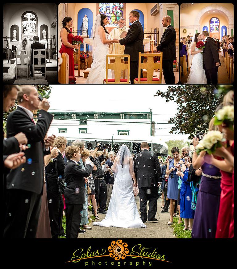 wedding photos at the lodge at welch allyn