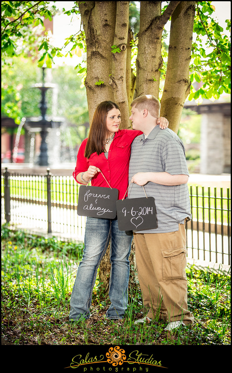 Engagement Session At Franklin Square Syracuse Ny