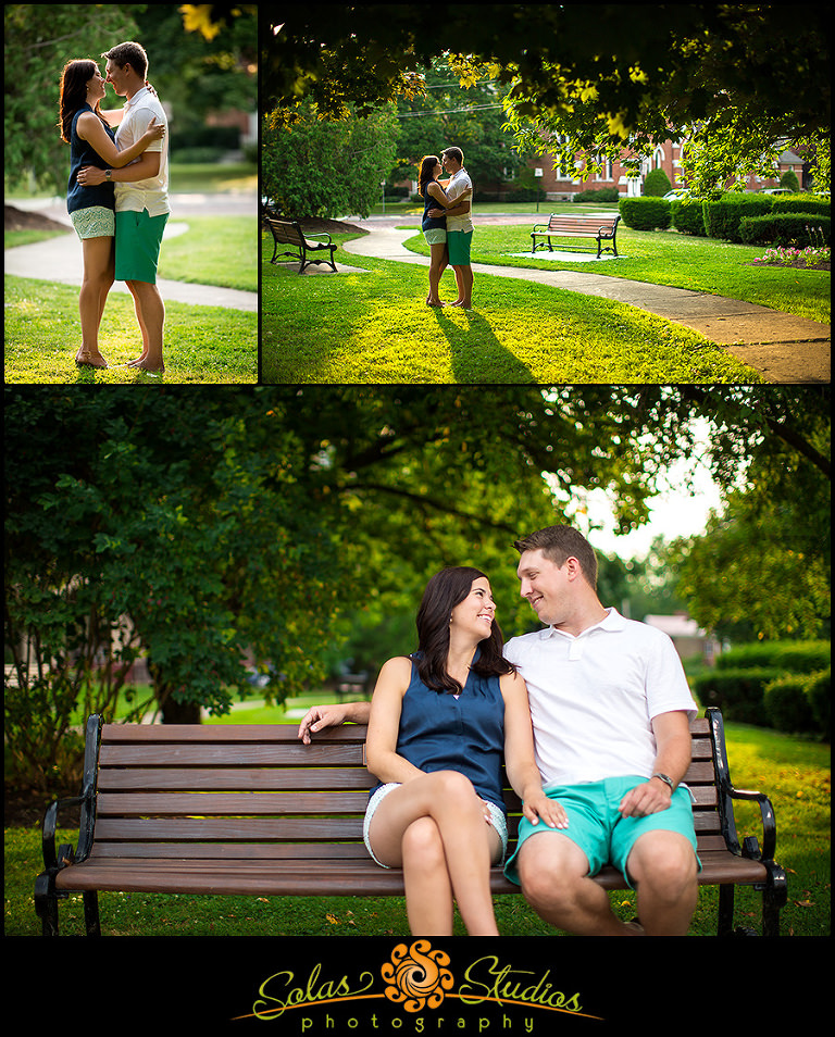 Engagement Photos Pulteney Park Geneva
