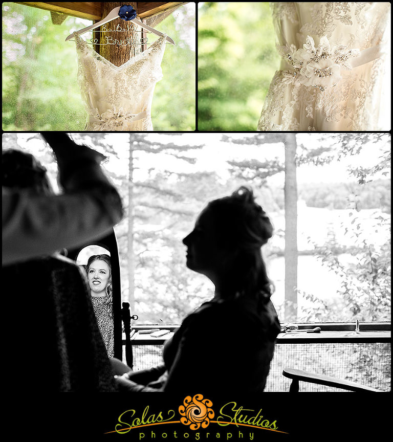 Adirondack Wedding Photos at Star Lake NY