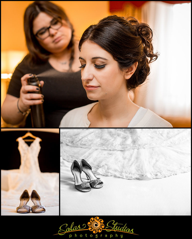 Solas Studios Wedding Photography at The Genesee Grande Hotel