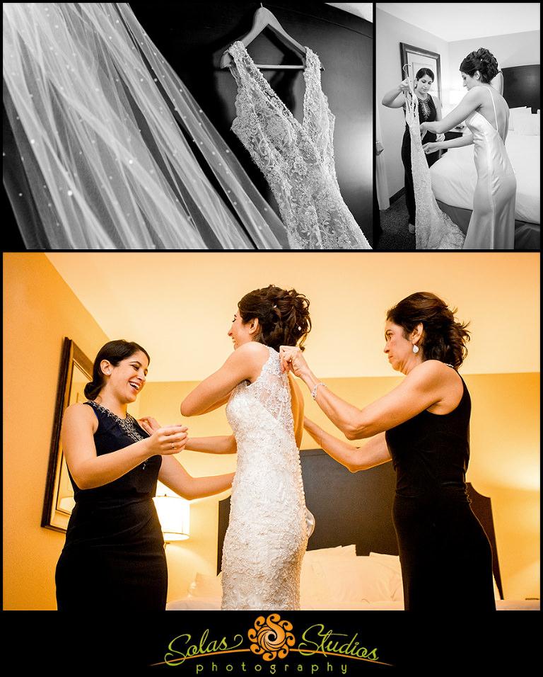 Solas Studios Wedding Photography at The Genesee Grande Hotel