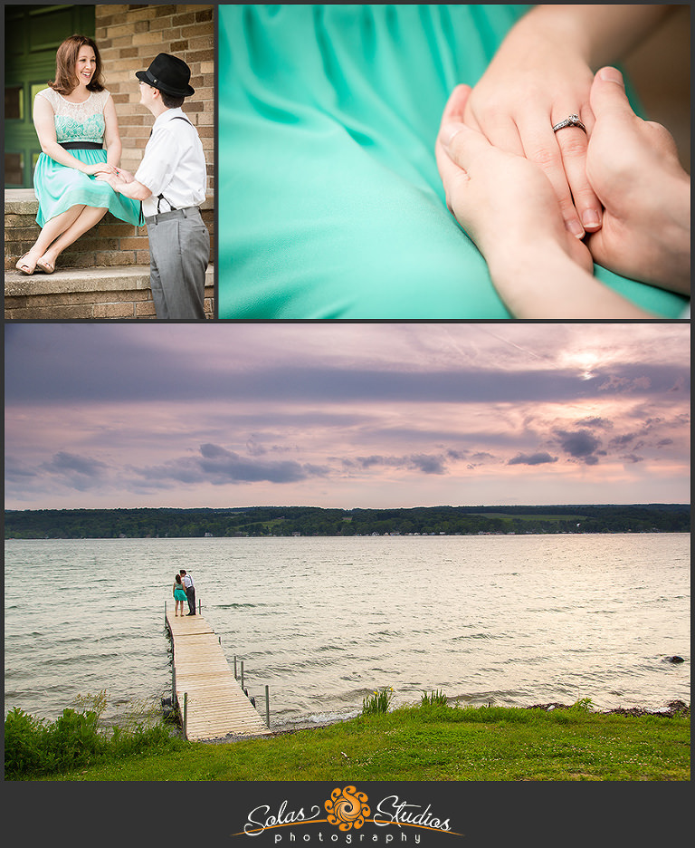 Solas Studios Engagement Session at Keuka Lake State Park