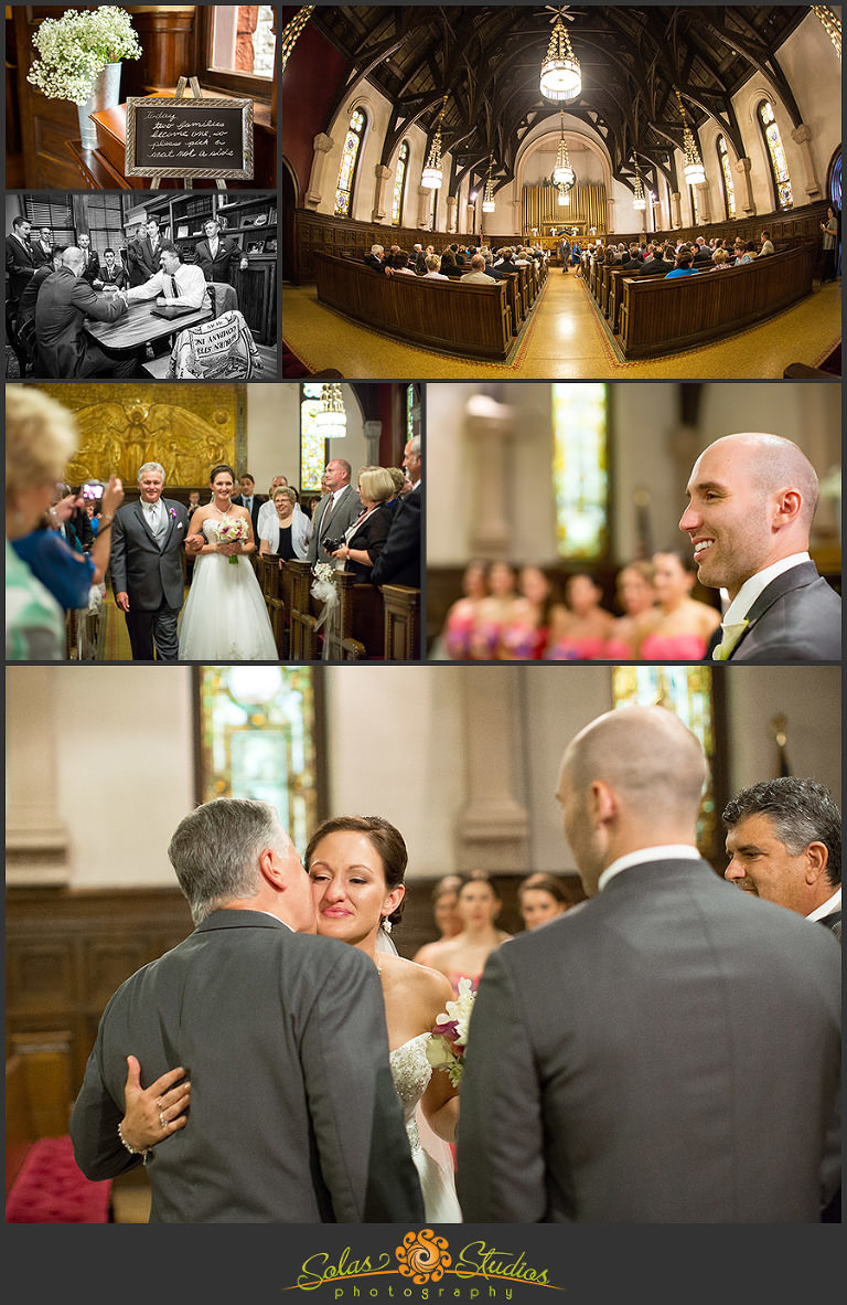 Solas Studios Wedding at Willard Memorial Chapel