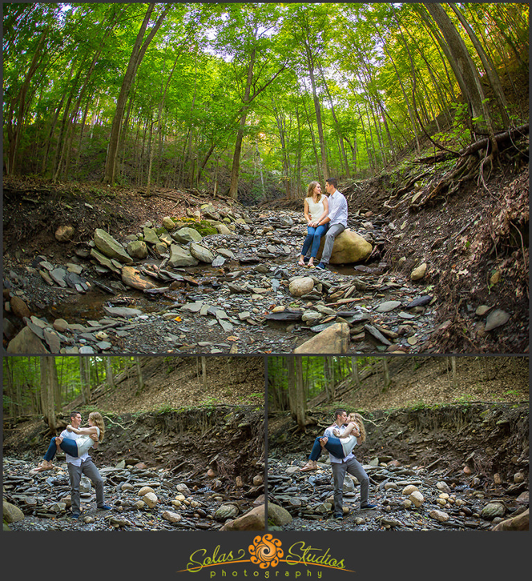 Solas Studios Engagement Session at Canandaigua Lake