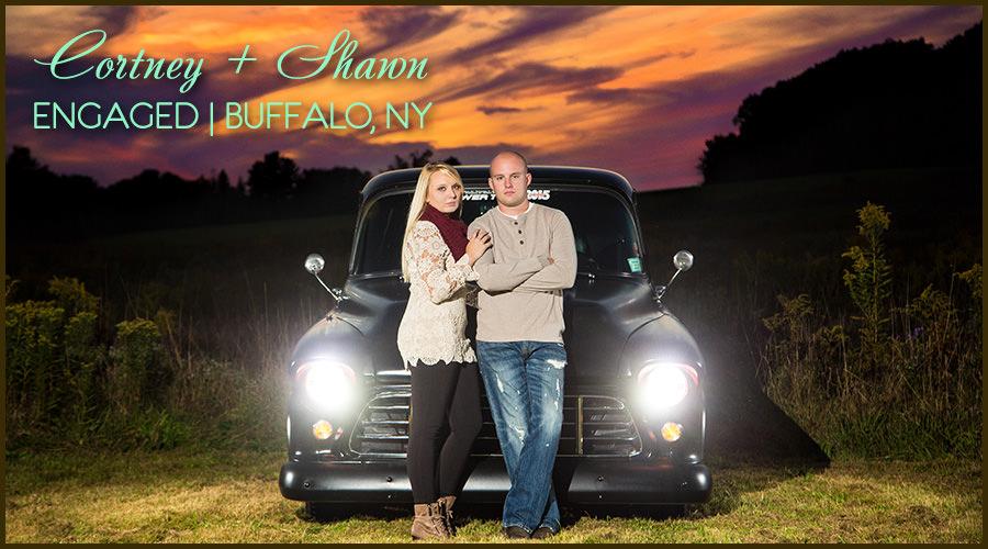 Engagement Session Knox Farm Buffalo Cover