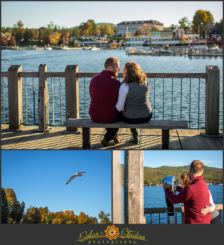 Solas Studios Engagement Session at Lake George, NY