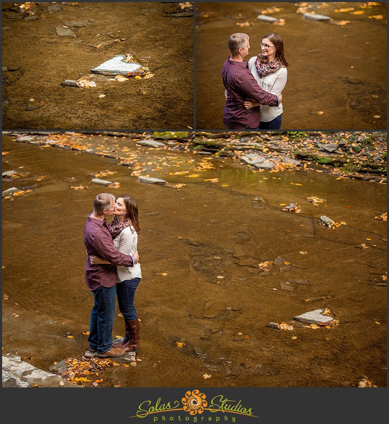 Solas Studios Engagement Session at Watkins Glen, NY