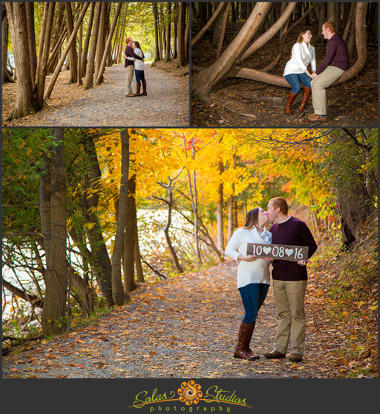 Solas Studios Engagement Session at Green Lakes, NY