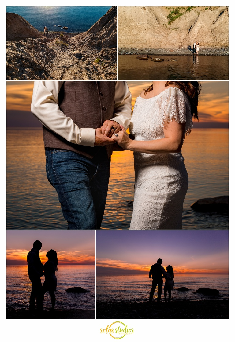 Wedding Mexico Point State Park 4