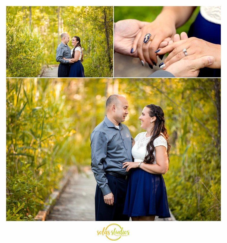 engagement session Butternut Creek Trail fayetteville 1