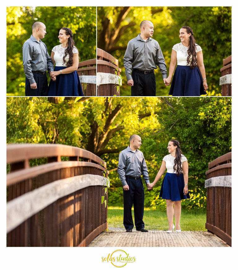engagement session Butternut Creek Trail fayetteville 2