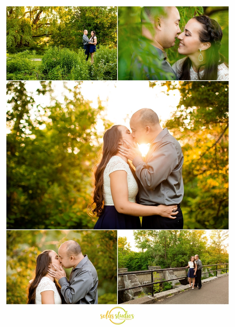 engagement session Butternut Creek Trail fayetteville 4